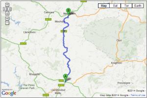 A483 – Newtown to Llandrindod Wells