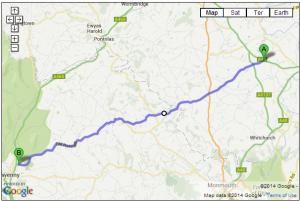 B4521 – Ross-on-Wye to Abergavenny