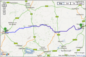 Melton Mowbray to Spalding