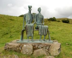 King and Queen Sculpture