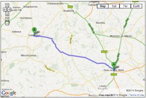 B4077 – Stow on the Wold to Toddington
