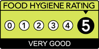 Food hygiene rating of 1