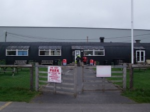 Hotspur Cafe at Shobdon Airfield