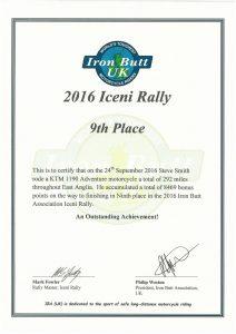 Iceni Rally 2016