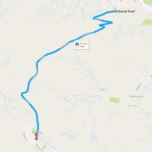 A4233 – Aberdare to Maerdy