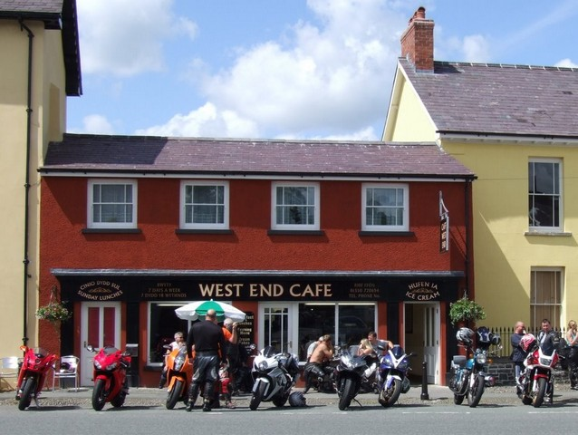 West End Cafe, Llandovery