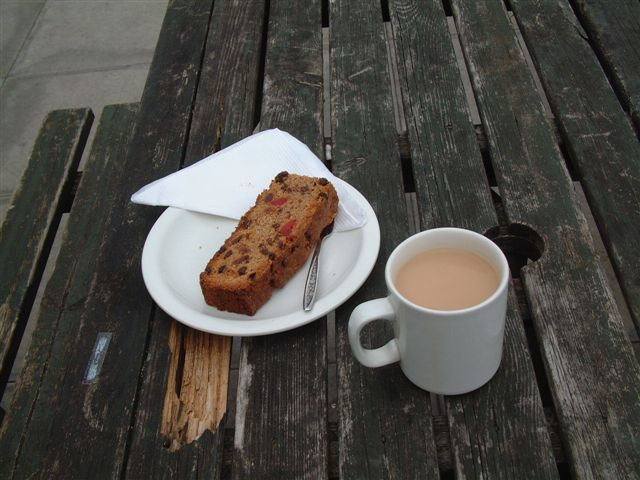 Touchdown Cafe at Wellesbourne airfield