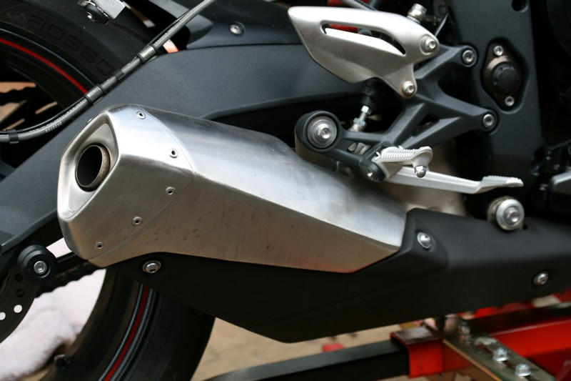 Original Triumph Street Triple R Exhaust