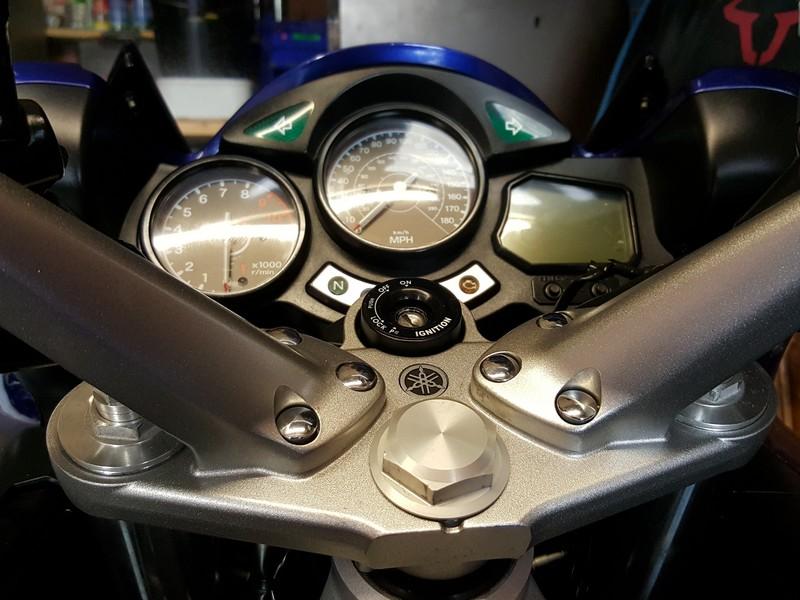 Original Yamaha FJR 1300 stem nut