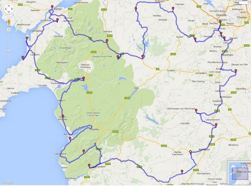 2015 WNR Route Plan