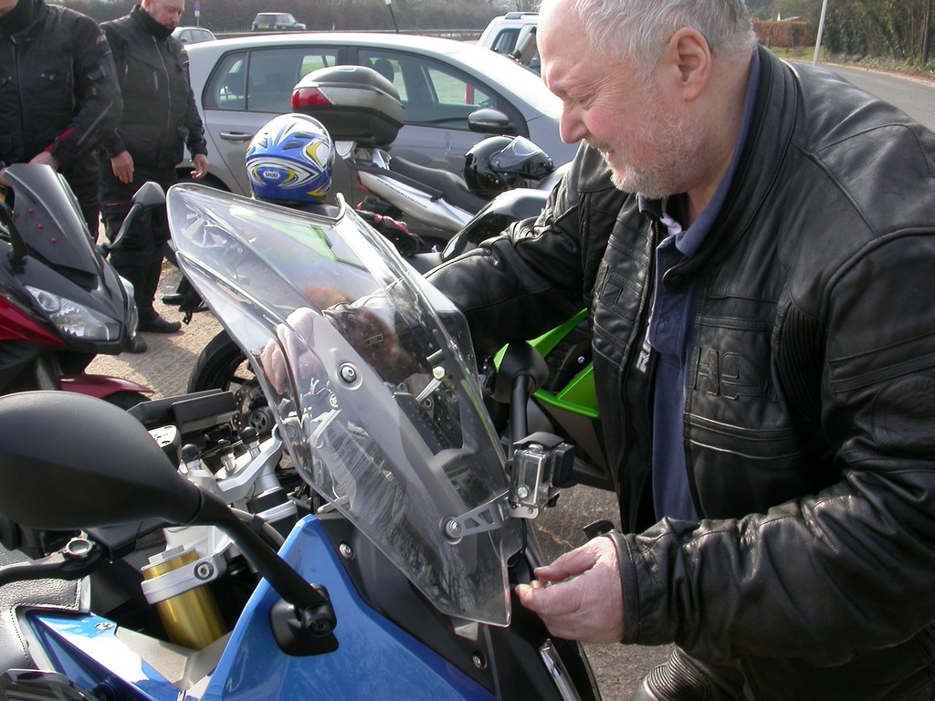 Bob and his BMW R1200RS