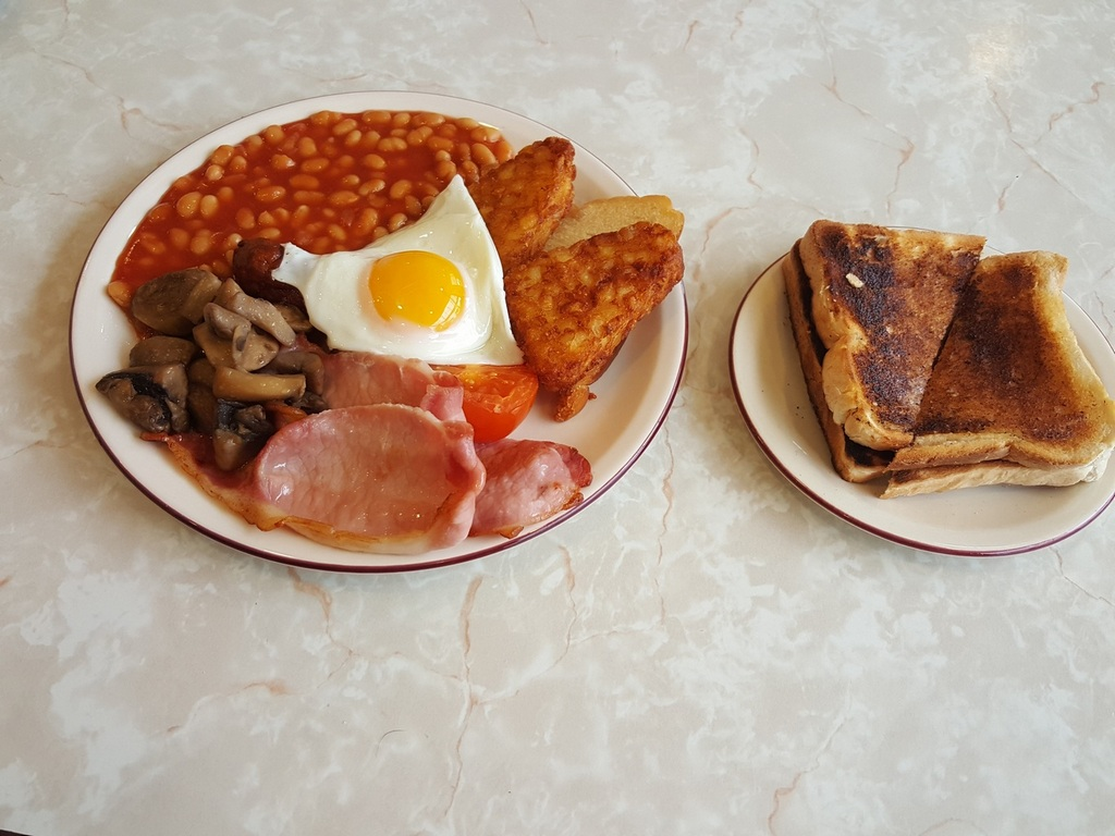A Morrison's Big Breakfast