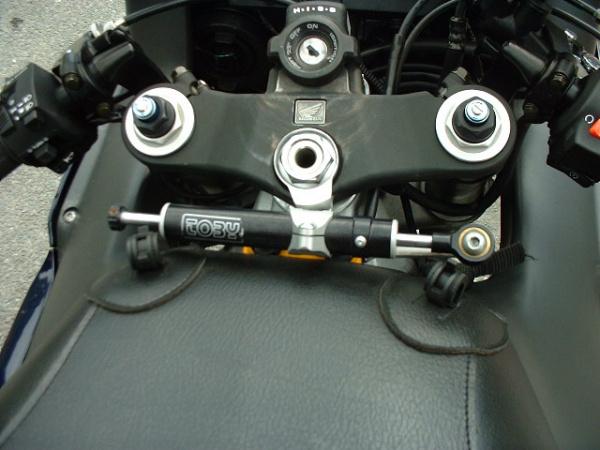 Hank's Fireblade steering damper