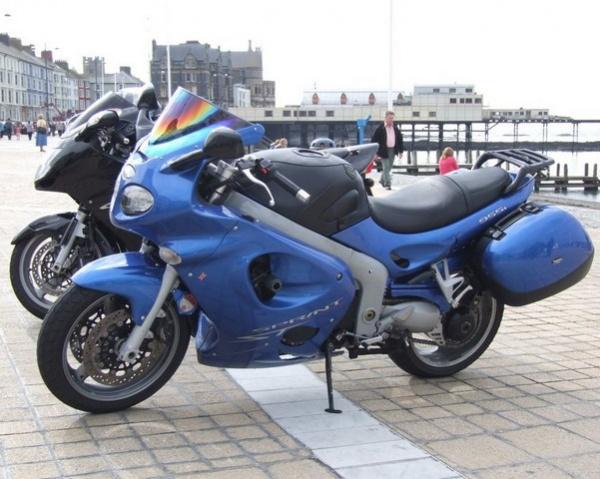Rig's 2004 Triumph Sprint ST in Aberystwyth