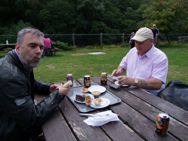 Lunch at Elan Valley