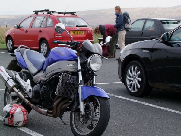 Windsor's Honda X11 at the Cat and Fiddle