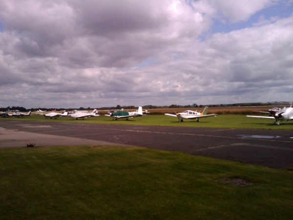 Wellesbourne airfield cafe