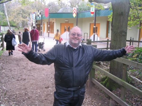Bob at Sherwood Forest Visitor Centre.