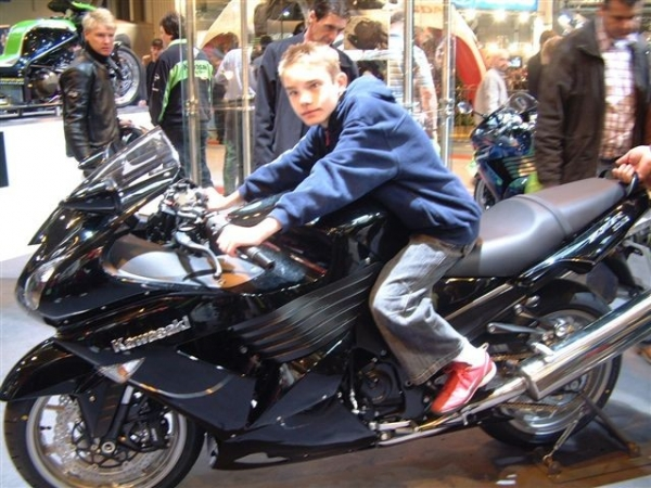 Scotty at the 2006 NEC Bike Show