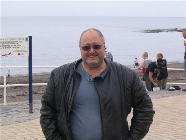 Bob in Aberystwyth