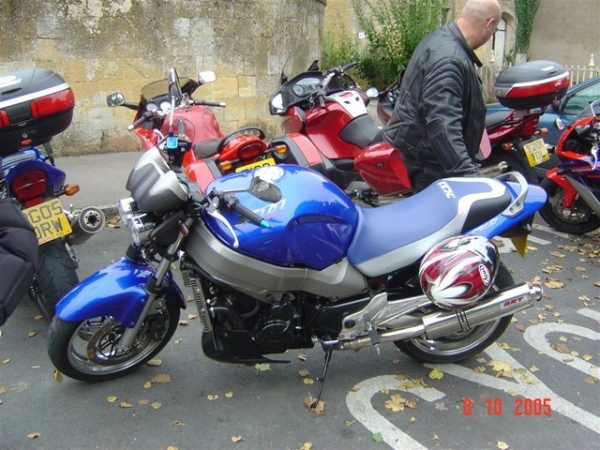 Windsor's Honda X11 at Bourton-on-the-Water