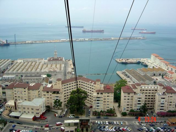 Gibraltar's Cable Car