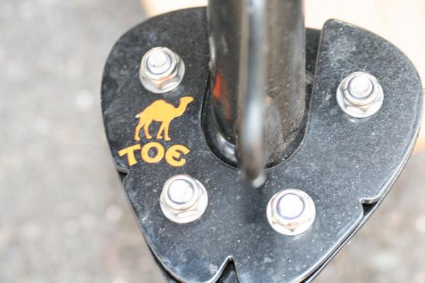 Camel Toe Side Stand Foot on Steve's KTM 1190 Adventure