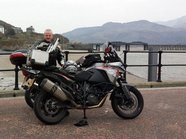 Steve's KTM 1190 Adventure in Barmouth