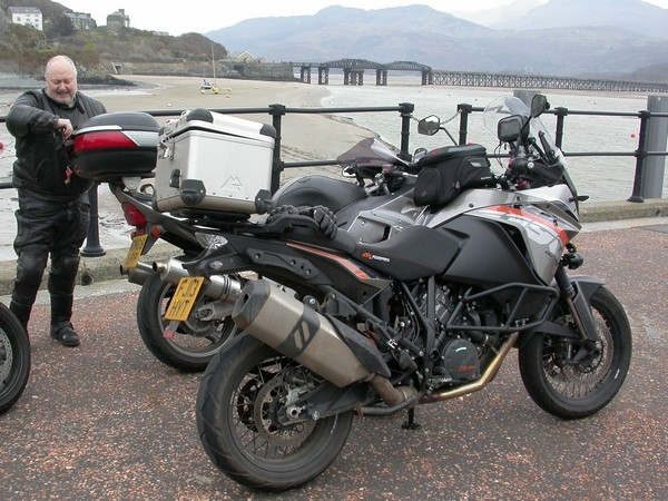 Steve's KTM 1190 Adventure in Barmouth