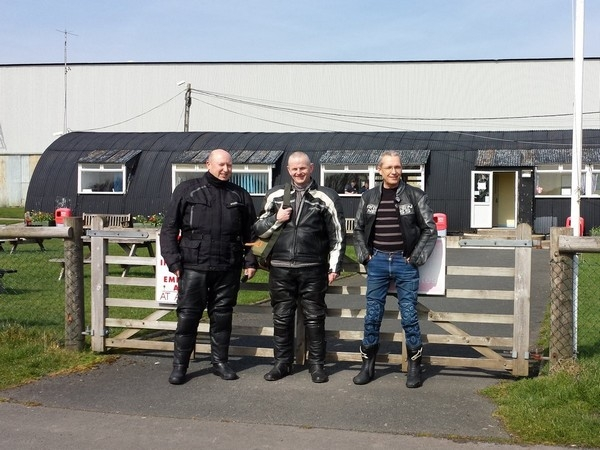 Outside Shobdon Airfield Cafe