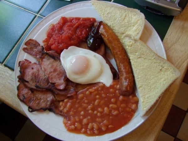 A Grindleford Station Cafe Full English