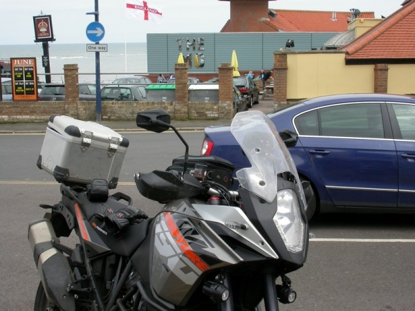 KTM 1190 Adventure in Sheringham