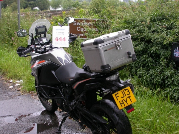 KTM 1190 Adventure near Swarkestone Causeway