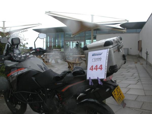 KTM 1190 Adventure at Dunstable Downs