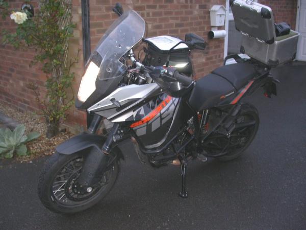 Steve's KTM 1190 Adventure