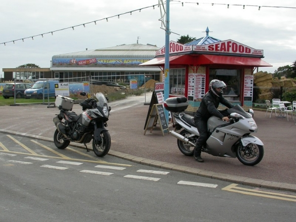 Steve's KTM 1190 Adventure in Skegness
