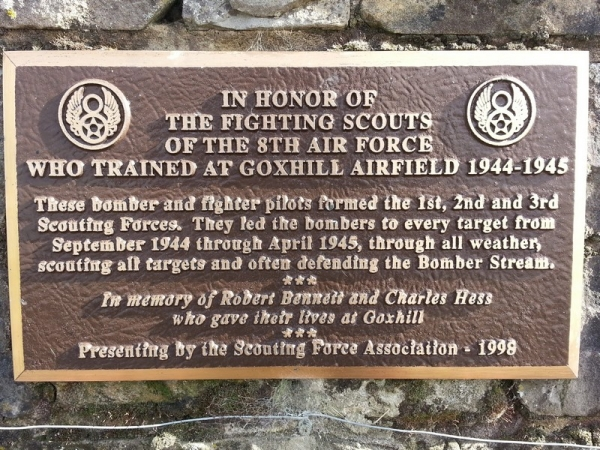USAF memorial at RAF Goxhill