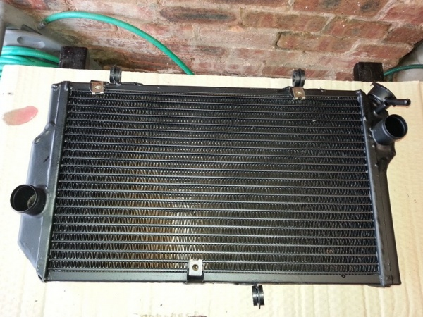 Replacement radiator from East End Radiators