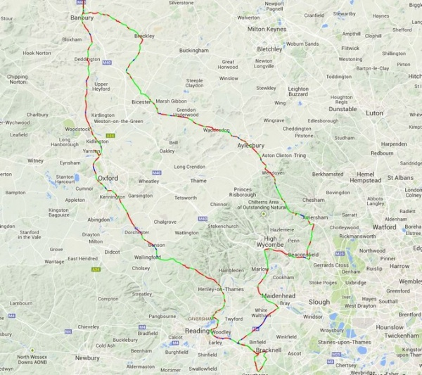 Six Counties Tour