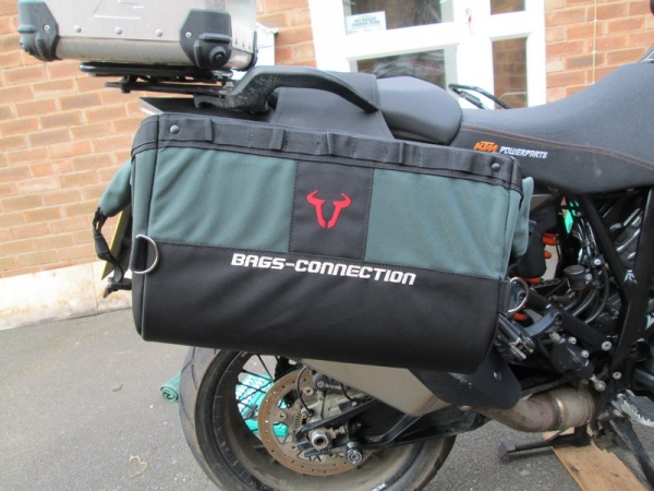 Bags Connection Dakar Panniers on Steve's KTM 1190 Adventure