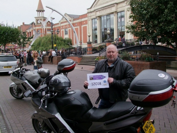 Bob and his Honda CBR1100xx Blackbird