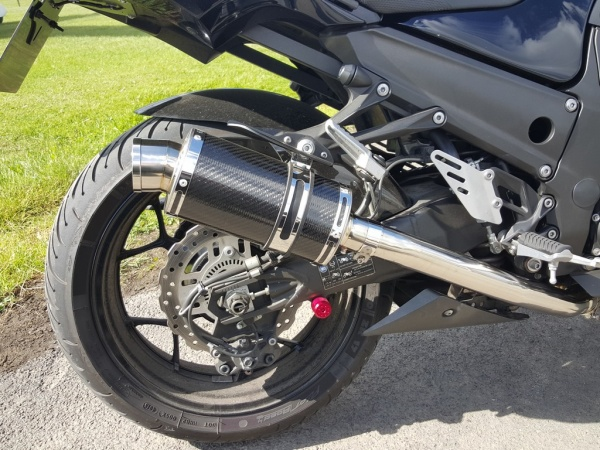 Delkevic carbon fibre silencers