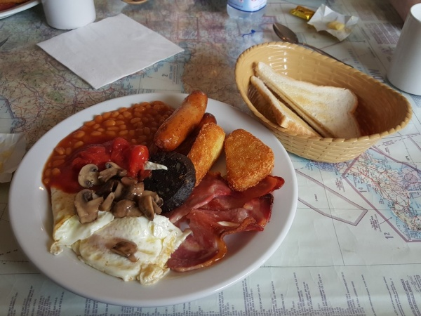 Shobdon Cafe Full English Breakfast