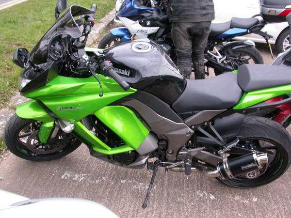 Daryll's Kawasaki Z1000SX