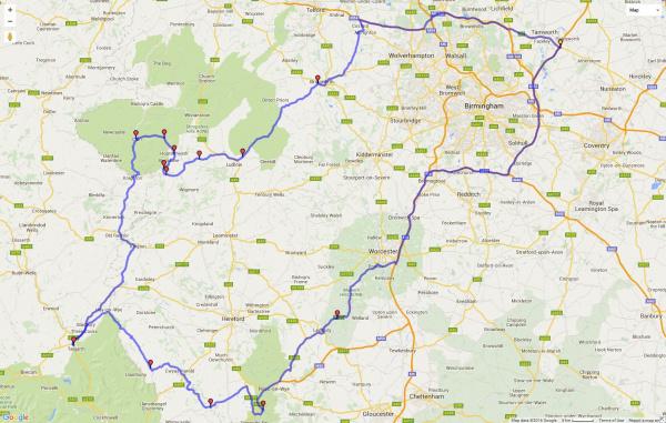 TMBF Route