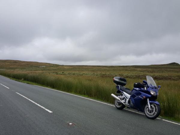 Along the B4407 towards Ffestiniog