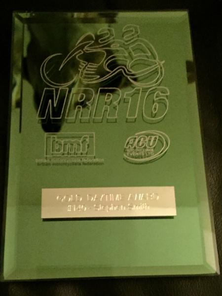 NRR 2016 Award