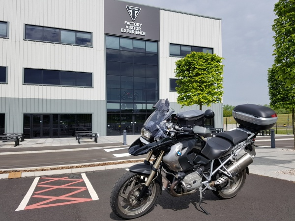 Triumph Factory Visitor Experience