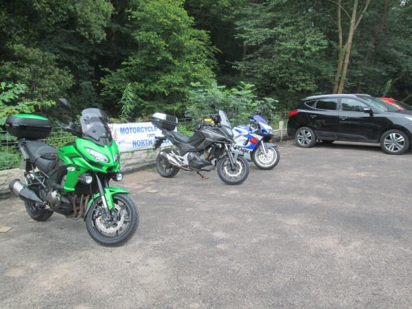 The Old Stores Motorbike Cafe at Pontblyddyn