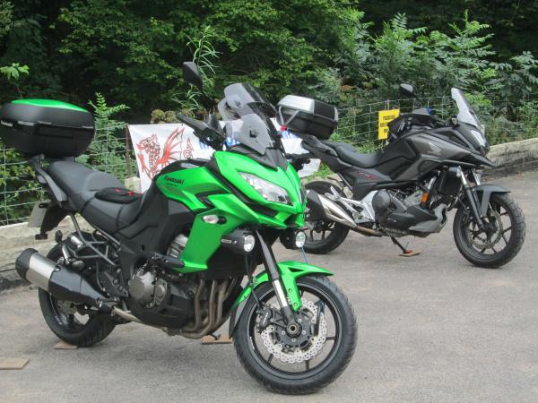 Kawasaki Versys 1000 at Old Stores Motorcycle Cafe